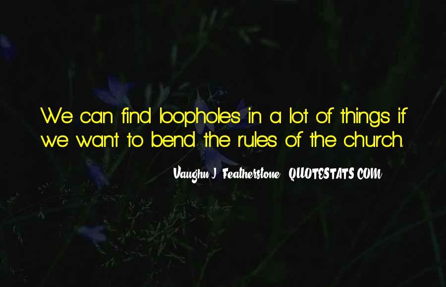 Vaughn Featherstone Quotes #1583924
