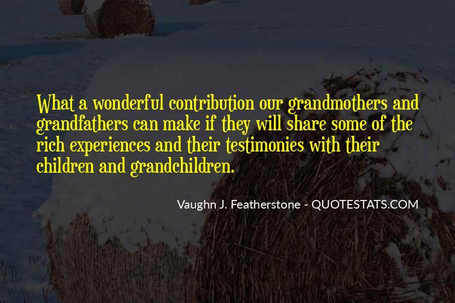 Vaughn Featherstone Quotes #1734068