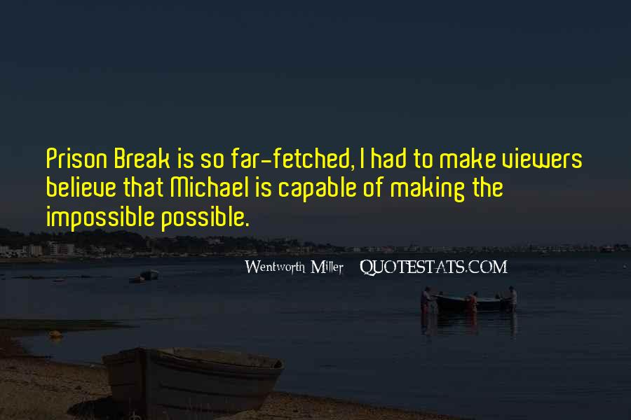 Quotes About Prison Break #640718