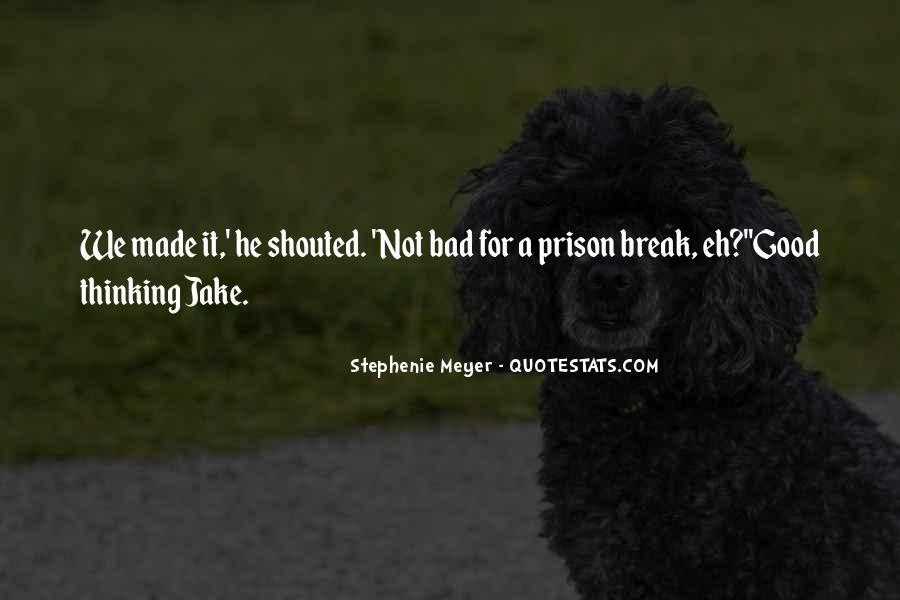 Quotes About Prison Break #885629