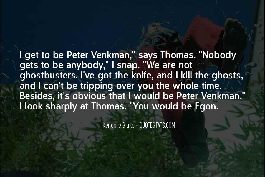Venkman Quotes #1260786