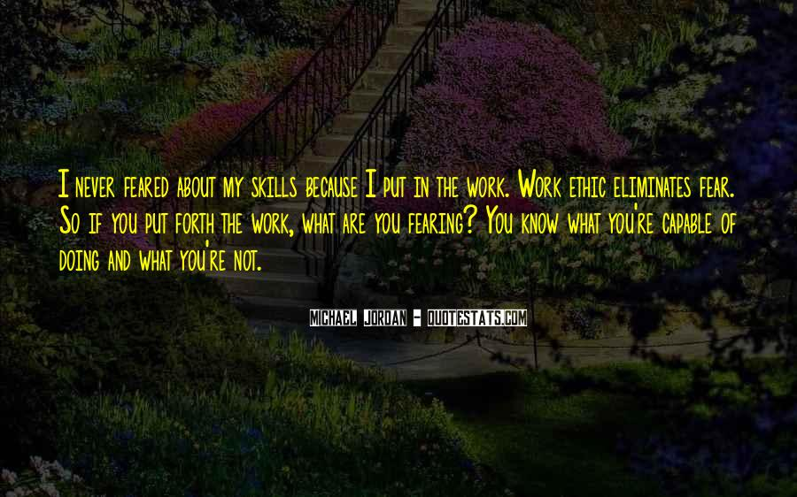 Quotes About Michael Jordan's Work Ethic #1498204