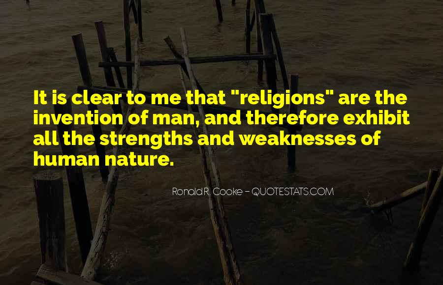 Quotes About Weaknesses And Strengths #1159263