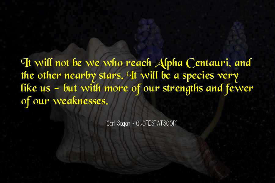 Quotes About Weaknesses And Strengths #187397