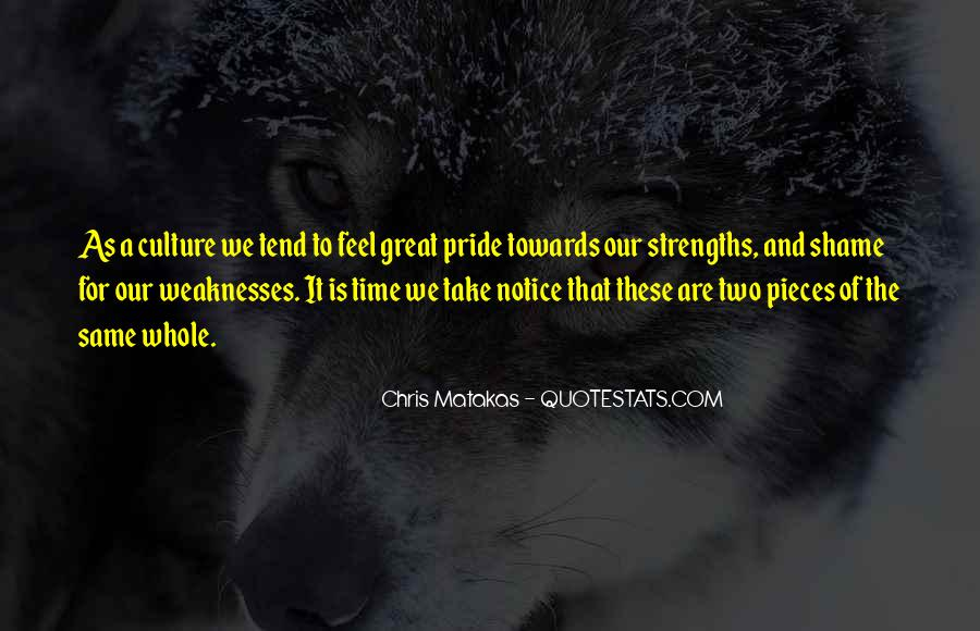 Quotes About Weaknesses And Strengths #577155
