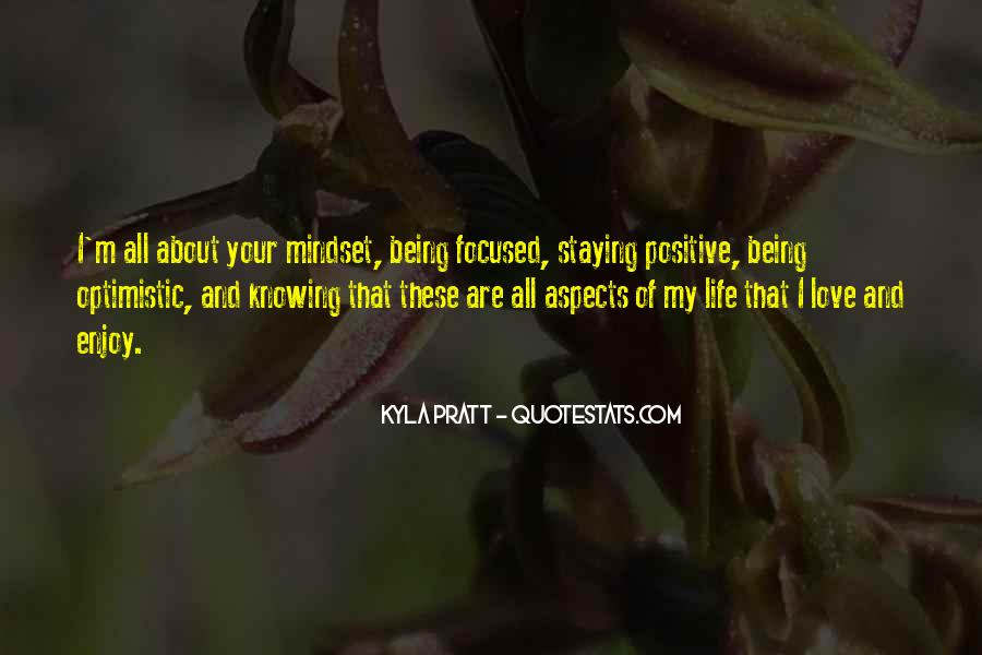 Quotes About Staying Optimistic #635230