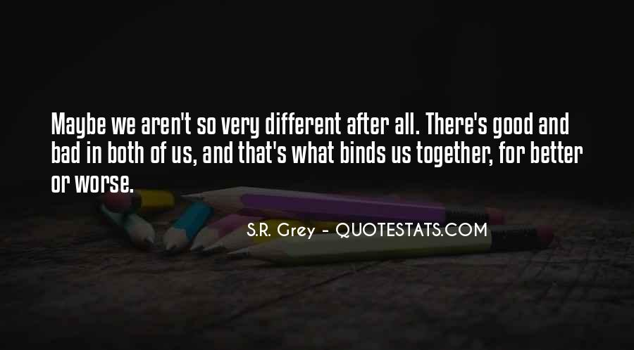 Very Different Love Quotes #1410687