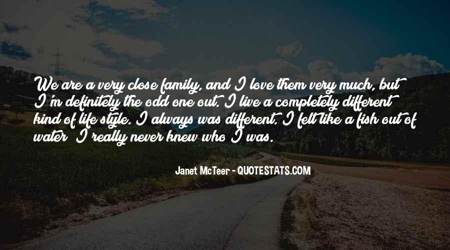 Very Different Love Quotes #1692269