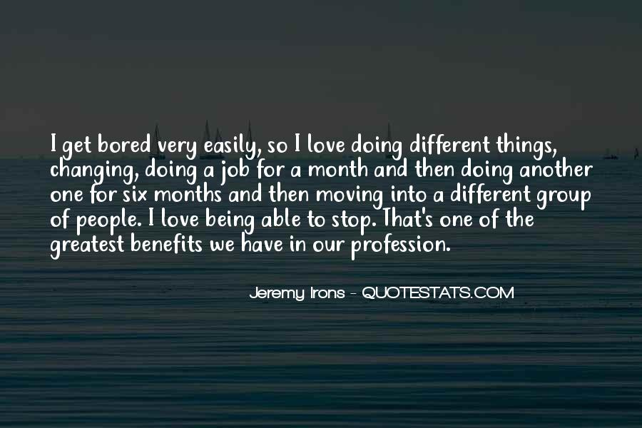 Very Different Love Quotes #186097