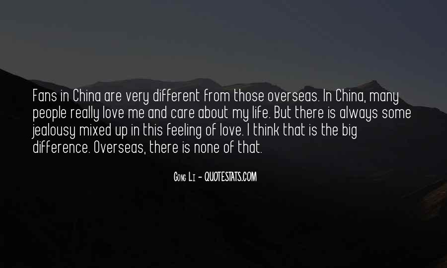 Very Different Love Quotes #663009