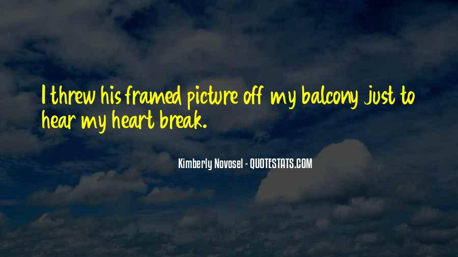 Very Sad Heartbreak Quotes #540343