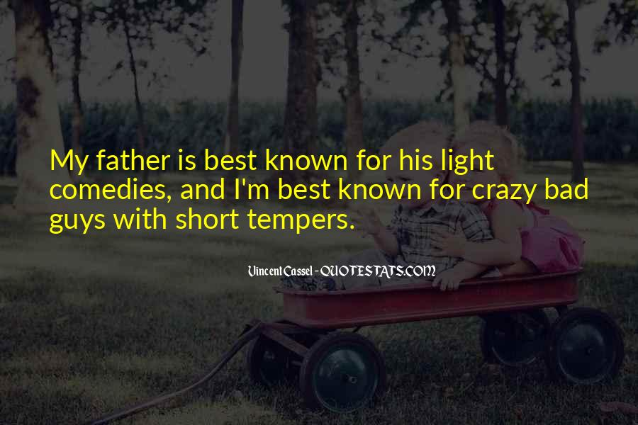 Very Short Father Quotes #1120777