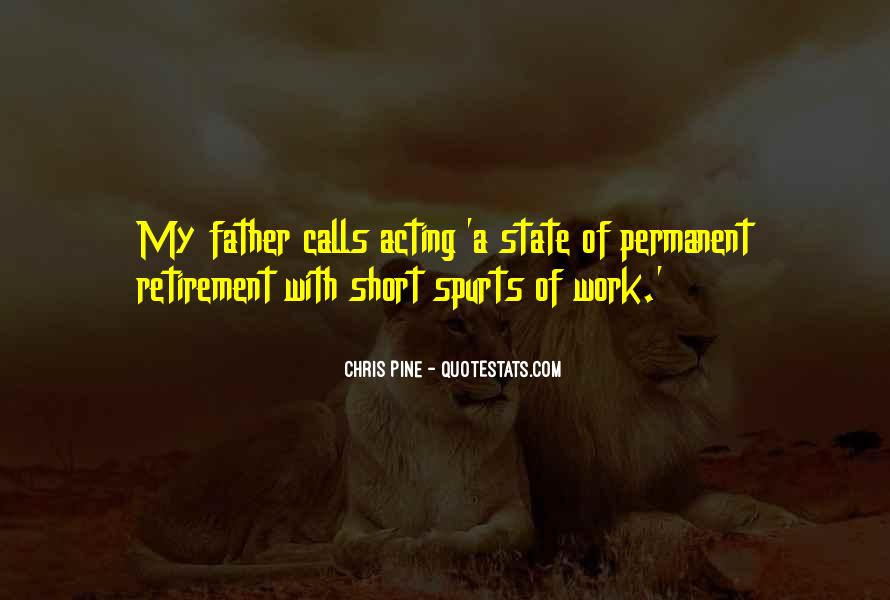 Very Short Father Quotes #945349