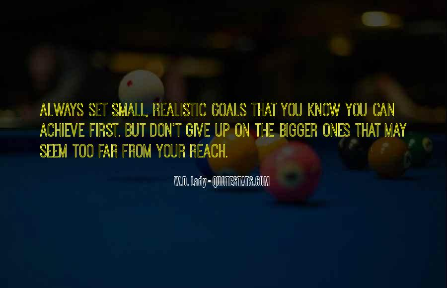 Very Small Inspirational Quotes #59891