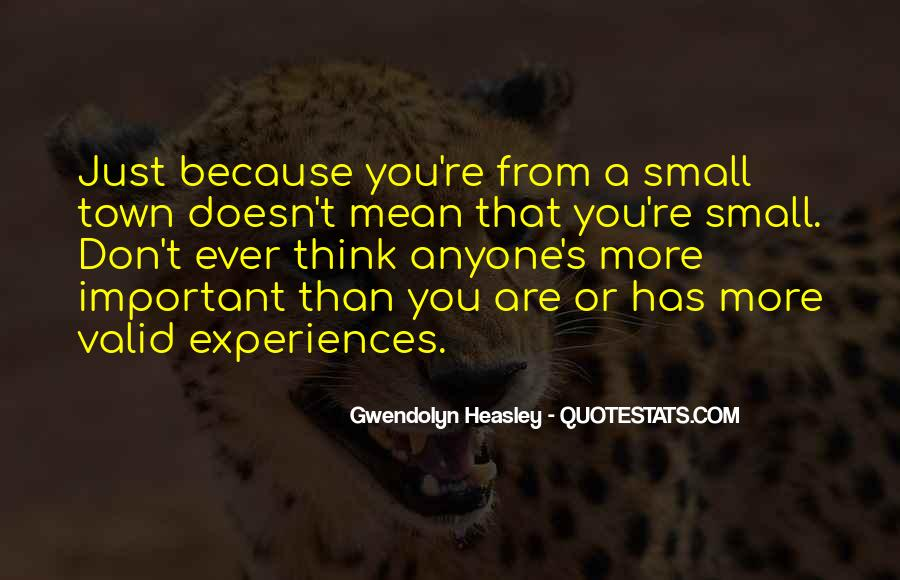 Very Small Inspirational Quotes #76573