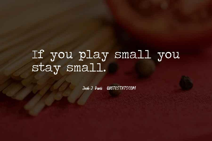 Very Small Inspirational Quotes #93240