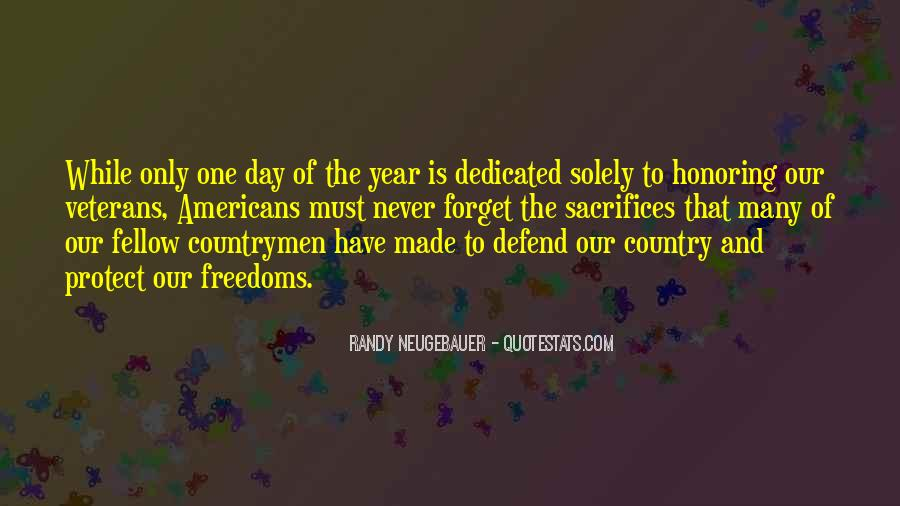 Veterans Day Honoring Quotes #666240