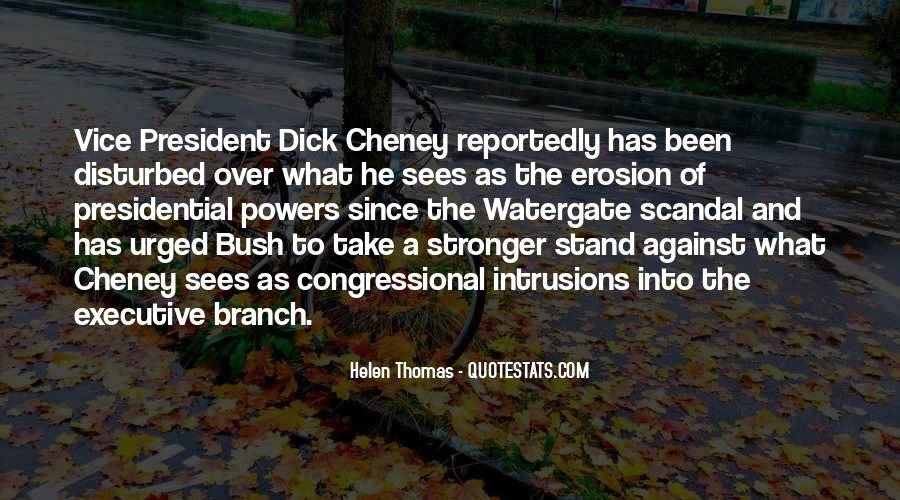 Vice Presidential Quotes #1371235
