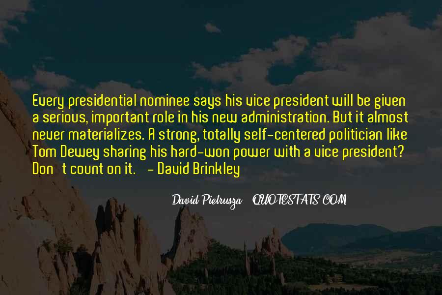 Vice Presidential Quotes #539580