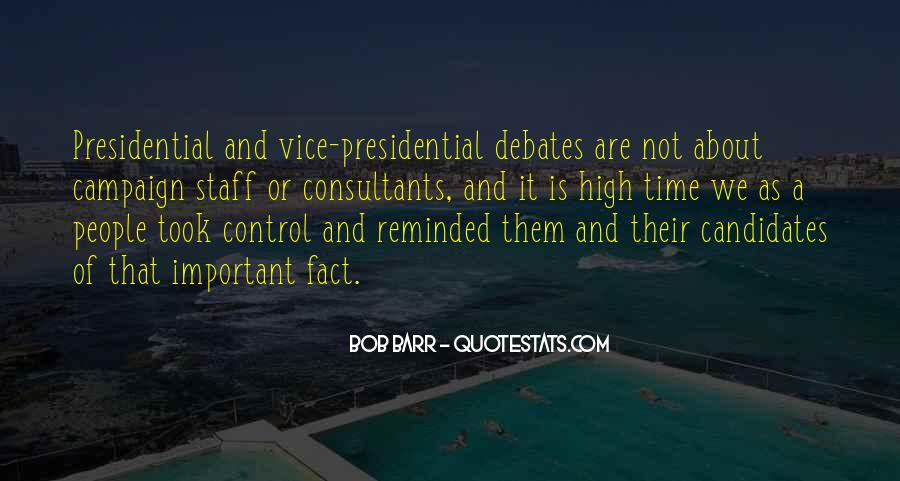 Vice Presidential Quotes #86988