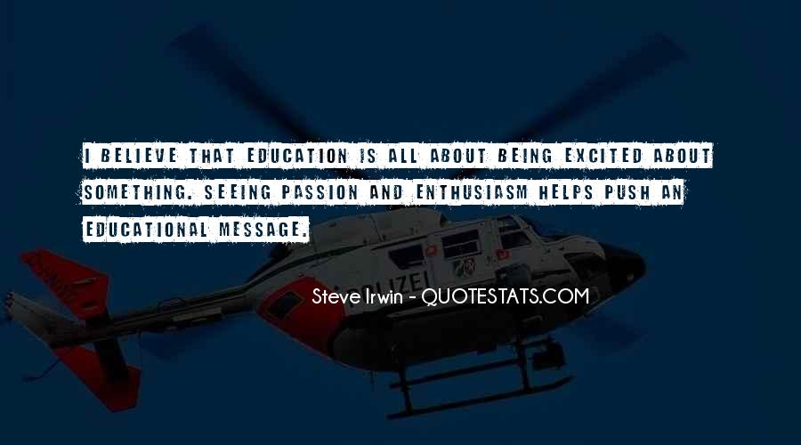 Quotes About Enthusiasm Passion #1020198