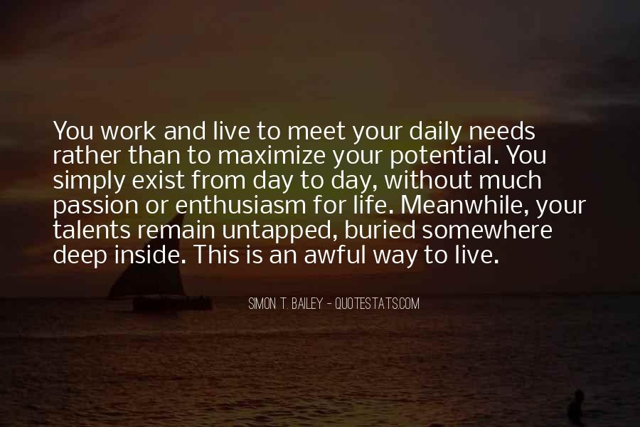 Quotes About Enthusiasm Passion #1725714