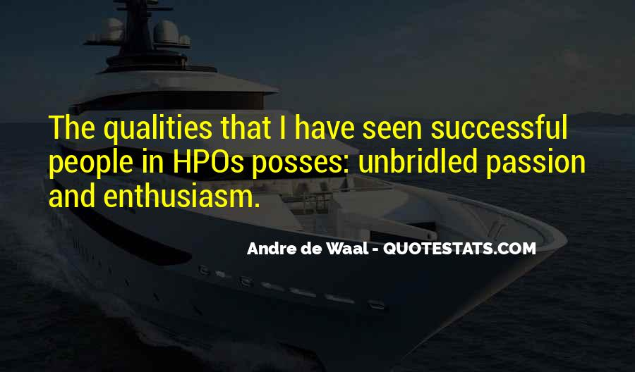 Quotes About Enthusiasm Passion #546725
