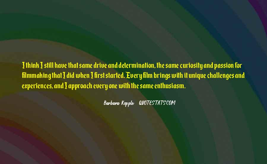 Quotes About Enthusiasm Passion #992095