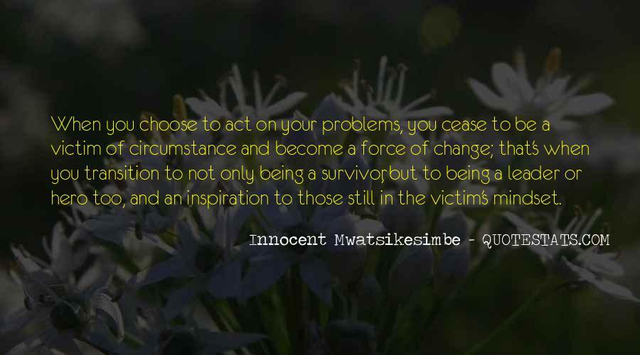 Victim Of Circumstance Quotes #169169