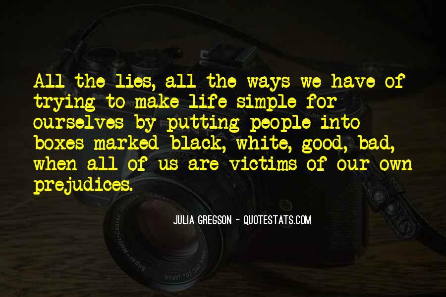 Victim Of Lies Quotes #114908
