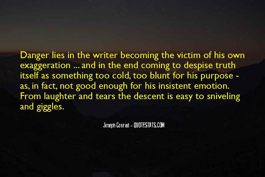 Victim Of Lies Quotes #1352414