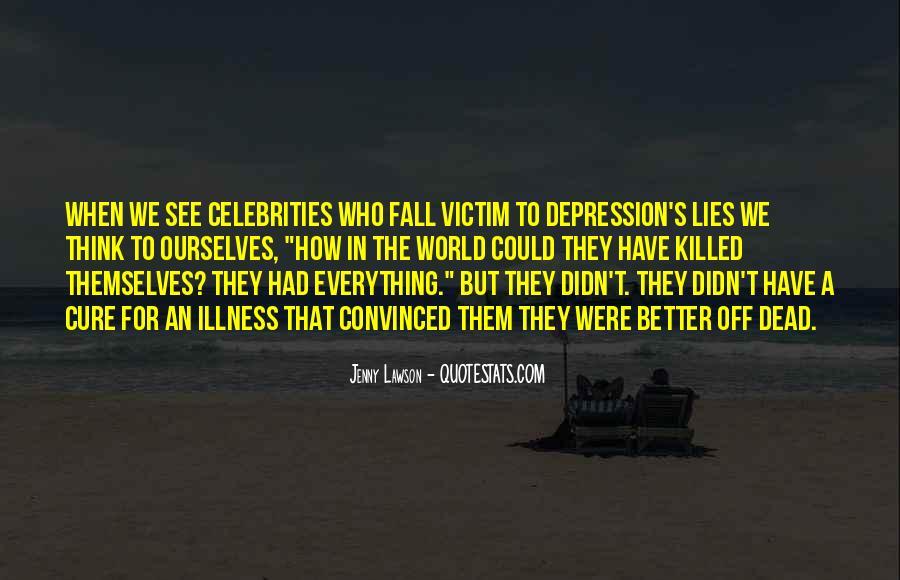 Victim Of Lies Quotes #1729770
