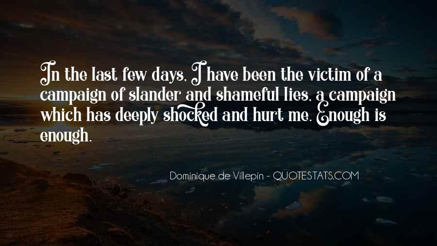 Victim Of Lies Quotes #207417