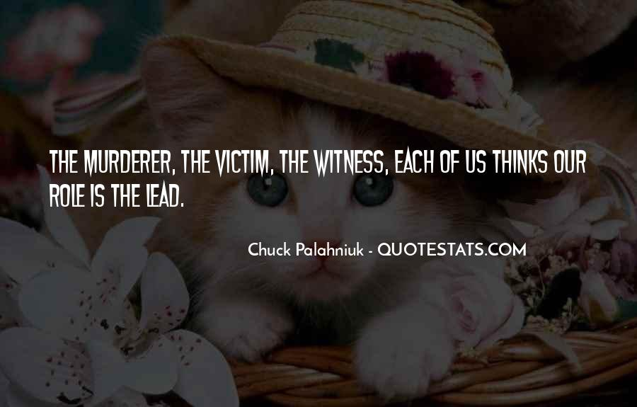 Victim Role Quotes #1668963