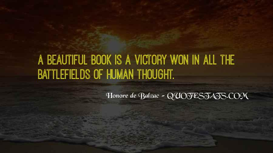 Victory Is Ours Quotes #12846