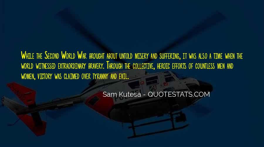Victory Is Ours Quotes #14030