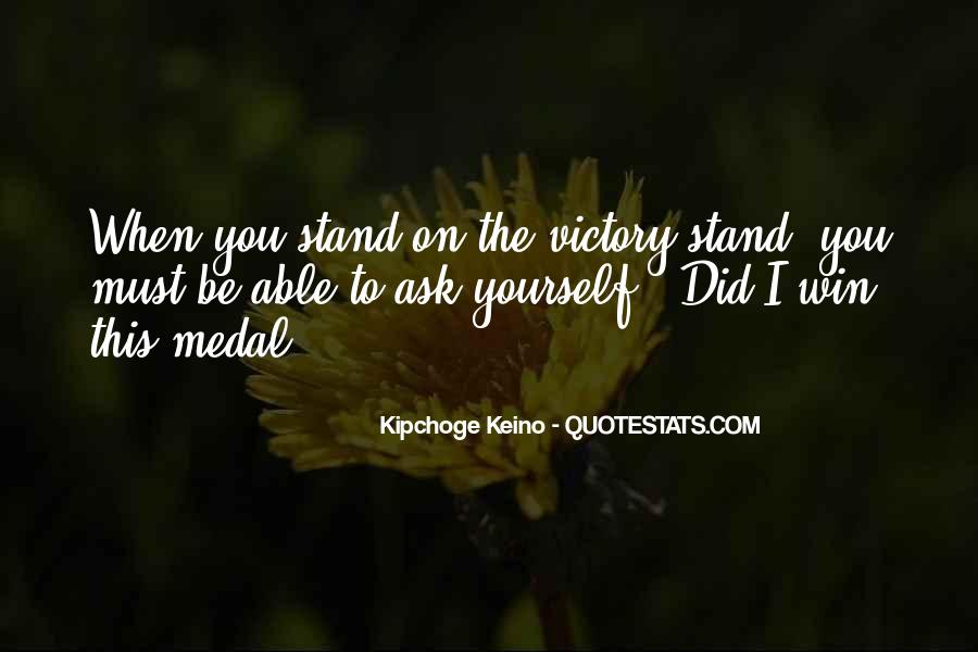 Victory Is Ours Quotes #21413