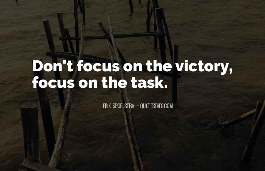 Victory Is Ours Quotes #241