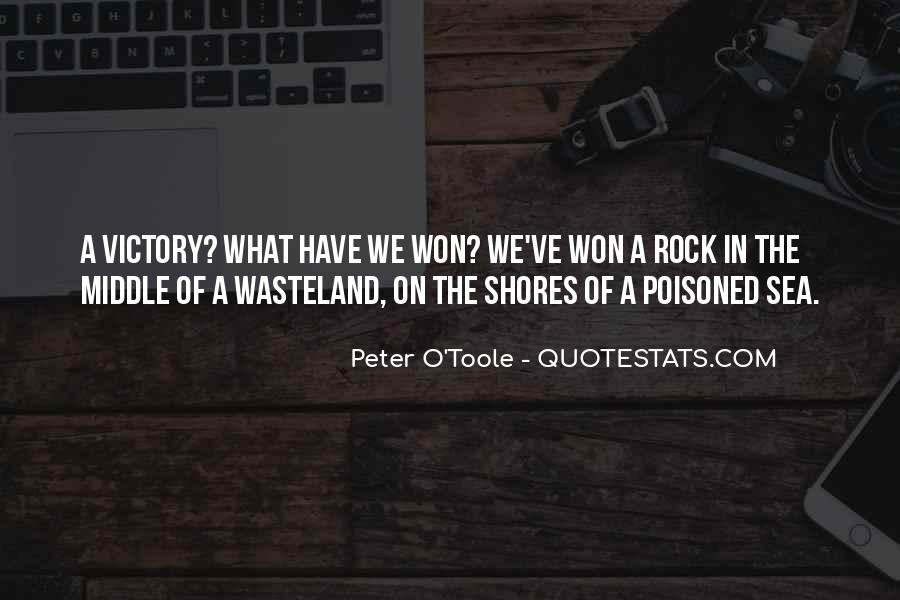 Victory Is Ours Quotes #25187