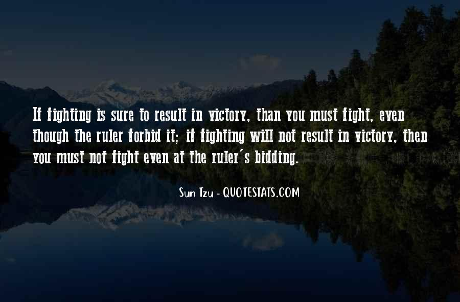 Victory Is Ours Quotes #25455