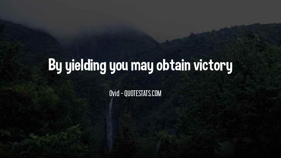 Victory Is Ours Quotes #4887