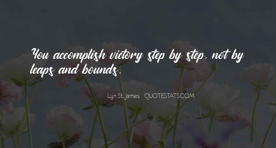 Victory Is Ours Quotes #639