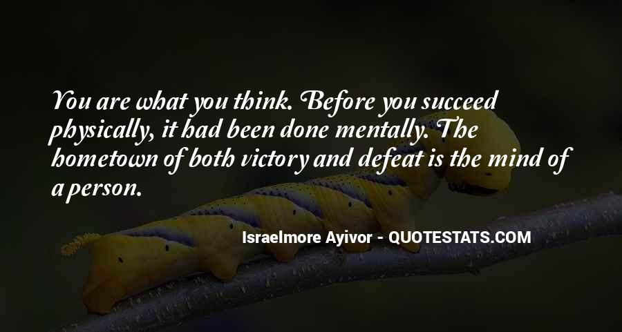 Victory Is Ours Quotes #9067