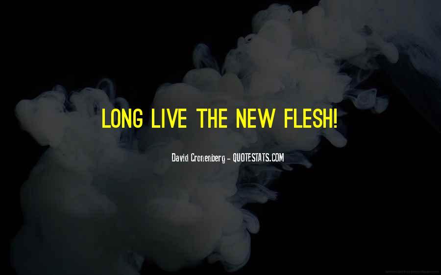 Videodrome New Flesh Quotes #211721