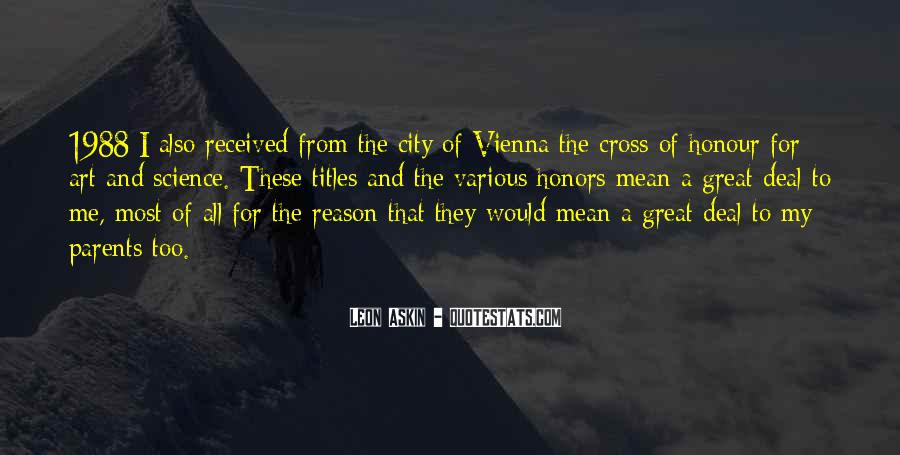Vienna City Quotes #784411