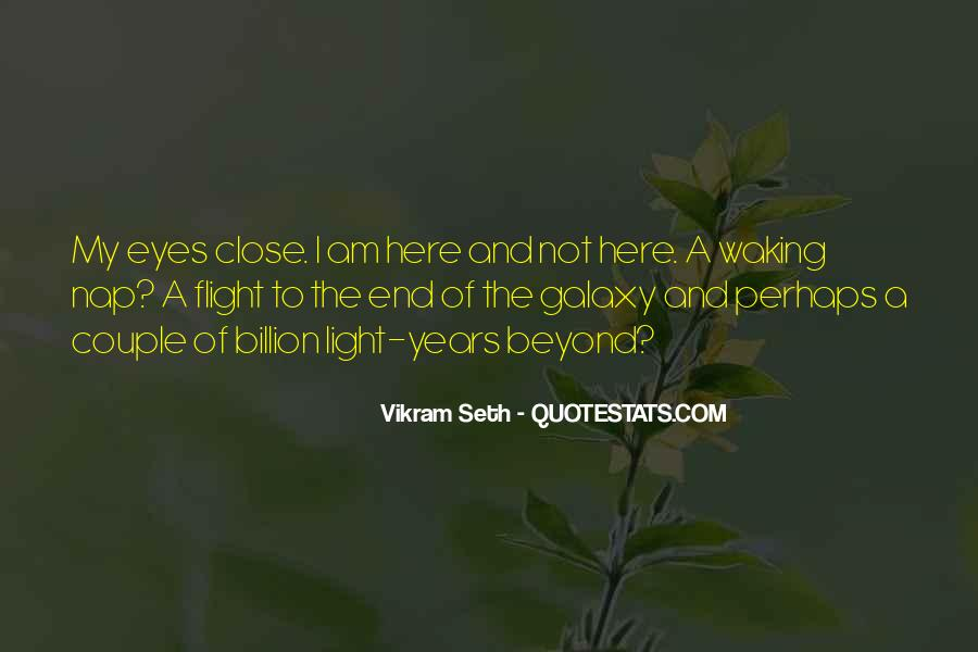 Vikram Seth An Equal Music Quotes #1776439