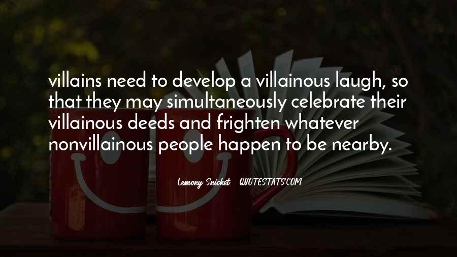 Villainous Quotes #1343013