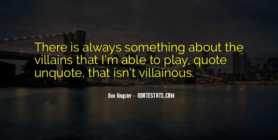 Villainous Quotes #1779276