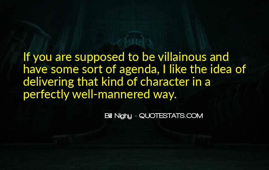 Villainous Quotes #450392