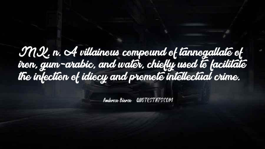 Villainous Quotes #487109